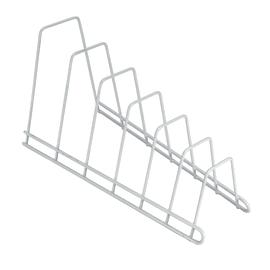 Porta coperchi Sector bianco L 34 x P 15 x H 18 cm