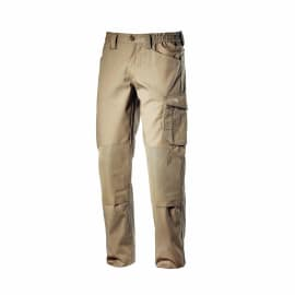 Pantalone Diadora Rocky Poly, beige tg. S