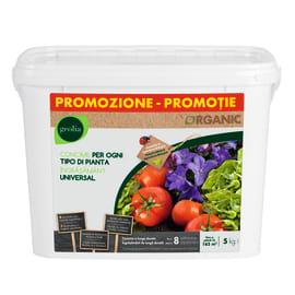 Concime universale per tutte le piante Organic Geolia 5 kg