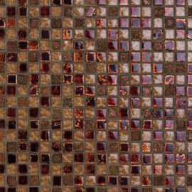 Mosaico Moka 30 x 30 cm rame, marrone, beige