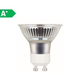 Lampadina LED Glass GU10 =50W luce naturale 100°