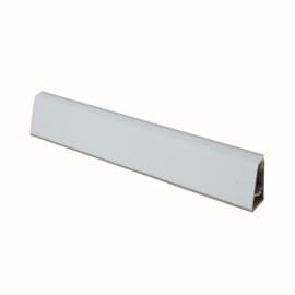 Alzatina su misura alluminio grigio H 3 cm