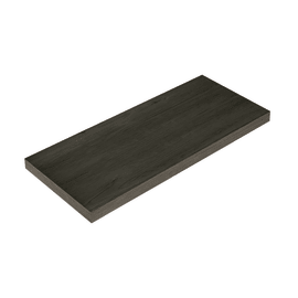Mensola Spaceo rovere scuro L 76 x P 23,7, sp 2,2 cm