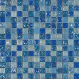 Mosaico Ice light sky 30,5 x 30 cm azzurro