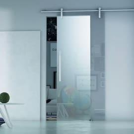 Porta da interno scorrevole Ermes Neutro 86 x H 215 cm sx