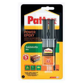 Colla epossidica power epoxy saldatutto mix 5 min. Pattex 28 g