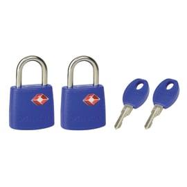 2 luchetti rettangolari a chiave arco standard 23 mm