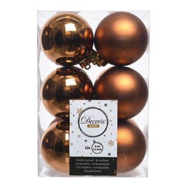 Box sfere rame ø 6 cm