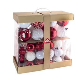 Box pendenti bianchi e rossi misure assortite