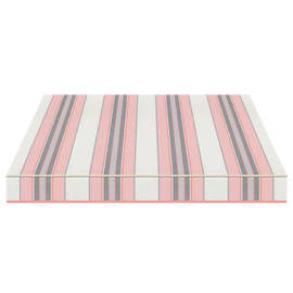 Tenda da sole a bracci Tempotest Parà 350 x 210 cm avorio/azzurro/grigio/rosa Cod. 5304/15