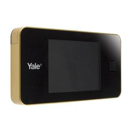 Spioncino digitale per porte blindate, porte da interno, portoncini Yale DDV Standard ottone