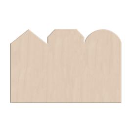 Decorazione Casette 27 x 40,5 cm