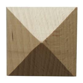 Fregio faggio levigato naturale 15 x 60 x 60 mm