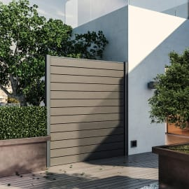 Divisori giardino prezzi e offerte online per schermi for Piastrelle plastica giardino leroy merlin
