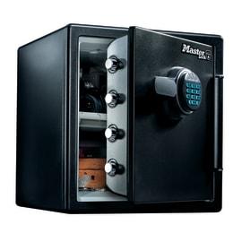 Cassaforte Master Lock LFW123FTC resistente a fuoco e acqua nero