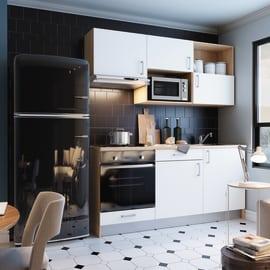 Cucina One L 180 cm con tris elettrodomestici Mini