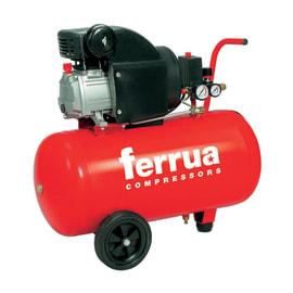 Compressore coassiale Ferrua RC2/50, 2 hp, pressione massima 8 bar