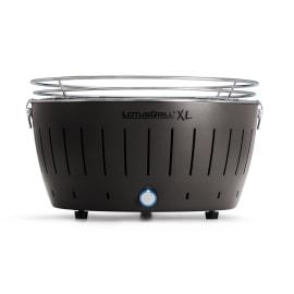 Barbecue a carbonella senza fumo XL grigio
