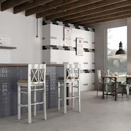Piastrella Artistic 7,5 x 30 cm bianco