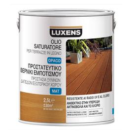 Olio protettivo Luxens per terrazze incolore 2,5 L