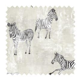 Tessuto su ordinazione Samarcanda zebra beige