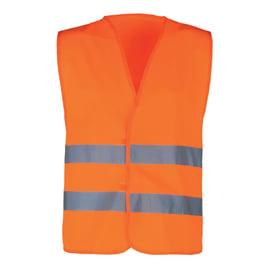 Gilet Kapriol arancione fluorescente tg. unica