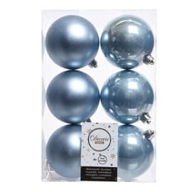 Box sfere azzurre ø 8 cm