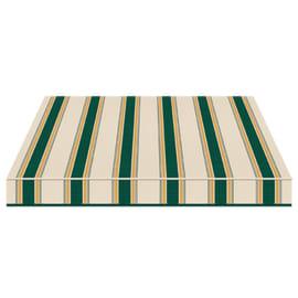 Tenda da sole a bracci Tempotest Parà 240 x 210 cm verde/giallo/avorio Cod. 635/8
