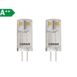 2 lampadine LED Osram Lampade led G4 =10W luce calda 300°
