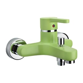 Miscelatore vasca Colors verde