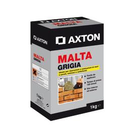Malta pronta Axton grigio 1 kg