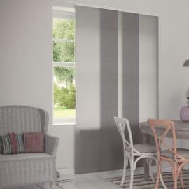 Tenda a pannello resinato effetto vedo non vedo bianco 60 x 300 cm