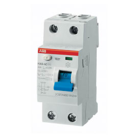 Interruttore differenziale puro ABB ELF202-25003A 2P 25 A