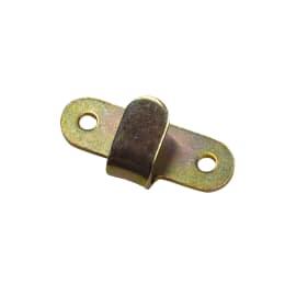 Gancio 60 x 30 mm, in acciaio finiture assortite