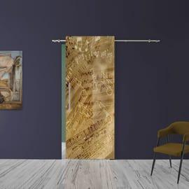 Porta da interno scorrevole Music 88 x H 220 cm dx