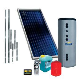 Impianto solare termico a circolazione forzata Costruzioni Solari Itasol 200
