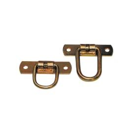 Cavallotto 65 x 65 mm, in acciaio zincato ad alta resistenza alla corrosione