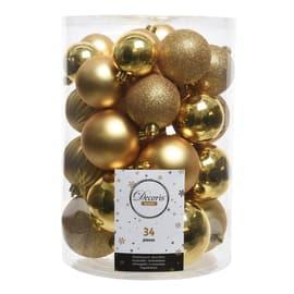 Box sfere oro misure assortite