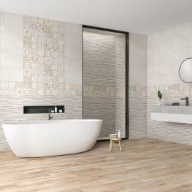 Rivestimenti bagno piastrelle bagno mattonelle e ceramiche for Mattonelle per bagno