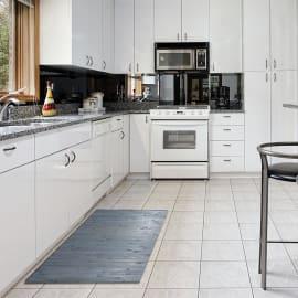 Tappetino cucina antiscivolo OPEN marrone 50 x 140 cm