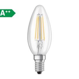 2 lampadine LED Osram Filamento E14 =40W oliva luce calda 320°