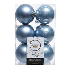 Box sfere azzurre ø 6 cm