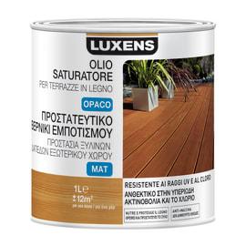 Protettivo per terrazze in legno Luxens Olio saturatore incolore 1 L