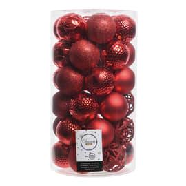 Box sfere rosse ø 6 cm