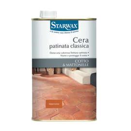 Cera Starwax Classica per cotto marrone 1 L