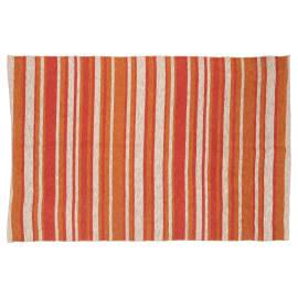 Tappeto Juta stripes beige, arancione 140 x 200 cm