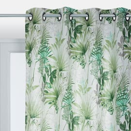 Tenda Palm 100% lino verde 140 x 300 cm