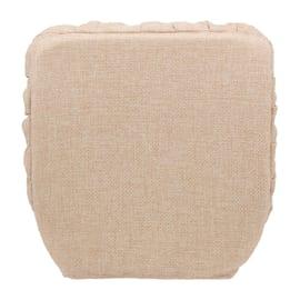 Cuscino per sedia con elastico Antonella beige 40 x 40 cm
