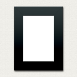 Cornice portafoto componibile Combo frame nero 10 x 15 cm