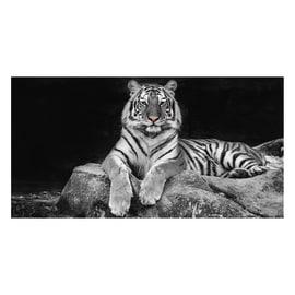 quadro su tela Glitter Wow Tiger 145x75